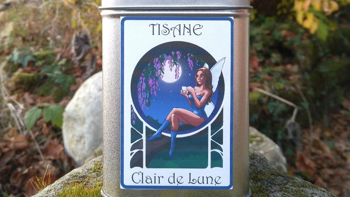 Boite décorée Fée Clair de Lune – Tisane Bio