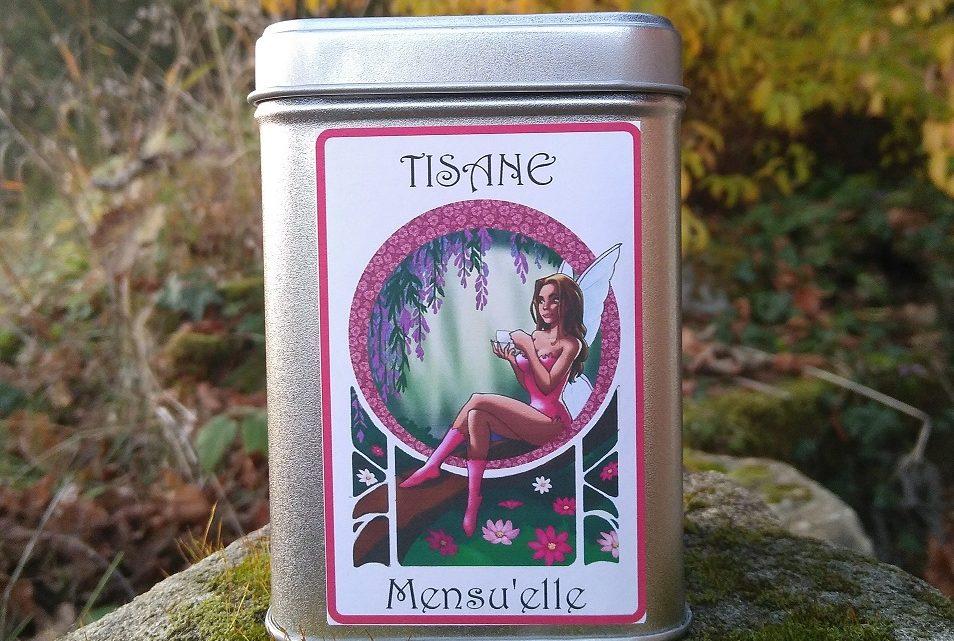 Boite décorée Fée Mensuelle – Tisane Bio