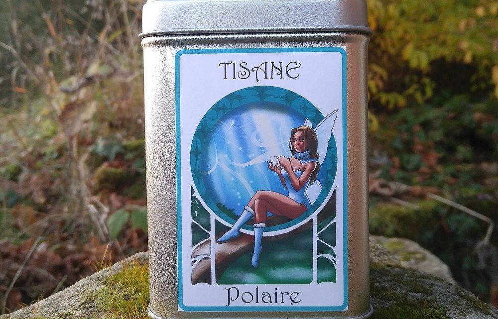 Boite décorée Fée Polaire – Tisane Bio